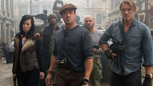 Expendables 2 still
