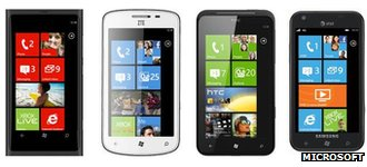 Nokia Lumia 800, ZTE Tania, HTC Titan, Samsung Focus 8