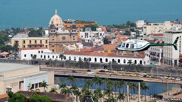 Cartagena historical centre