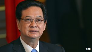 Vietnam&#039;s Prime Minister Nguyen Tan Dung