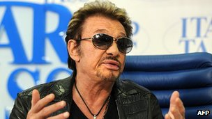 Johnny Hallyday , 29 May 12