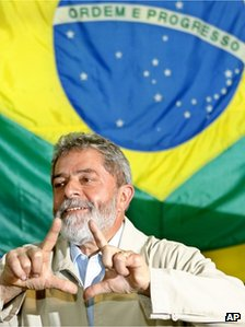 President Luiz Inacio Lula da Silva - photo from 2006