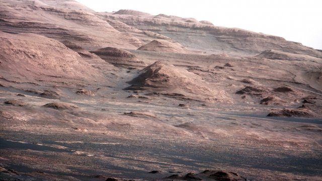 Image of the base of Mount Sharp