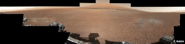 34mm panorama from Curiosity rover