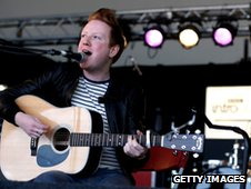 Alex Trimble from Two Door Cinema Club