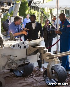 Nasa's Jim Garvin talks to will.i.am