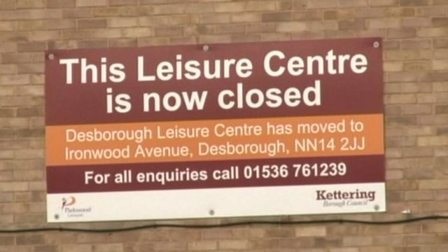 Hawthorns Leisure Centre in Desborough