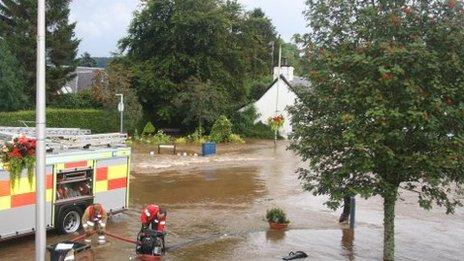 Comrie flooding