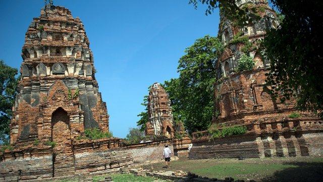 Temples at Ayutthaya