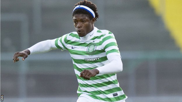 Bangura plays for Celtic during pre-season