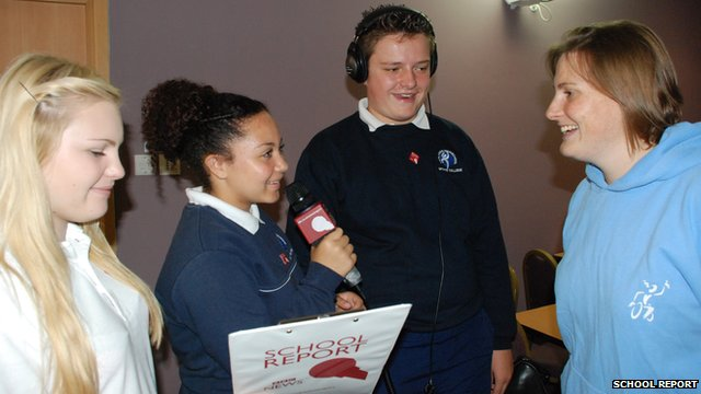 School Reporters interview Georgina Friend
