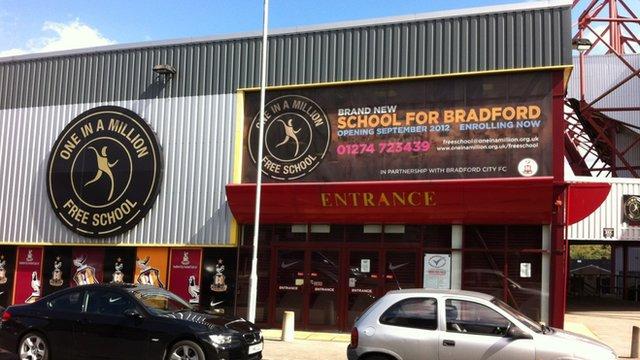 The One In A Million Free School in Bradford