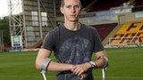 Motherwell defender Steven Saunders