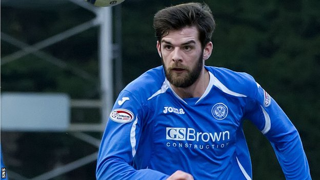 Former St Johnstone striker Cillian Sheridan
