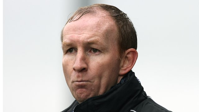 Scunthorpe manager Alan Knill