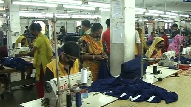 Bangladesh garment factory workers