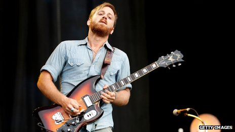 Dan Auerbach from The Black Keys