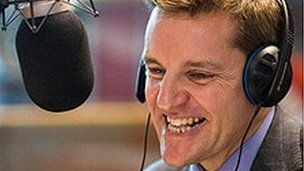Pete Waters at BBC Radio Norfolk