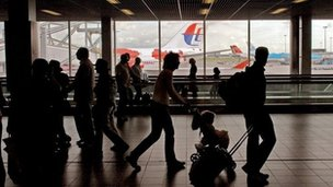 The airport handles some 48 million passengers every year