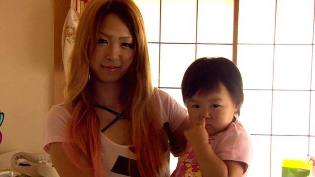 Girl transforms herself into a 'gal mama'