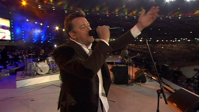 Guy Garvey, lead singer Elbow