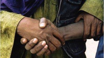 Tuareg handshake