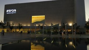 The Habima national theatre (Photo Hugh Sykes)