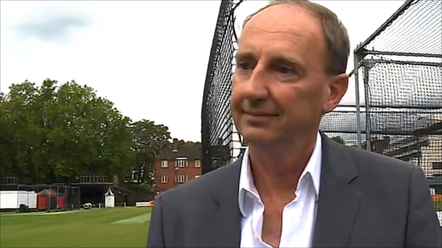 BBC cricket correspondent Jonathan Agnew