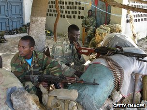 Ethiopian soldiers in Mogadishu, 2008