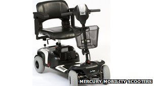 Mercury Prism Sport scooter (image courtesy of Mercury)