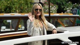Kate Hudson in Venice