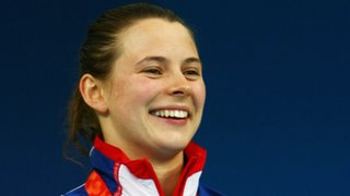 Liz Johnson won 100m Breaststroke SB6 gold at the 2008 Beijing Paralympic Games