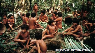 Yanomami tribespeople (file picture from Survival International)