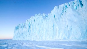 Antarctic glacier