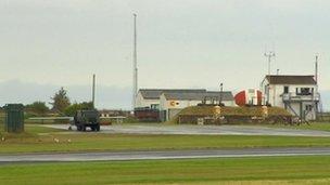 Aberporth drone testing site