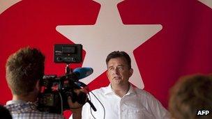 Dutch Socialist Party leader Emile Roemer