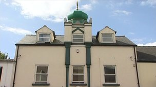 Masjidul Falah mosque in Cheltenham
