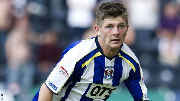 Kilmarnock forward Matthew Kennedy