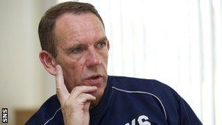 Kilmarnock manager Kenny Shiels