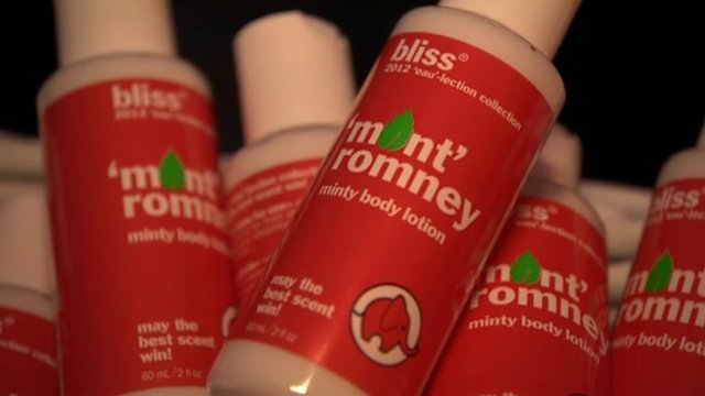 'Mint Romney' body lotion