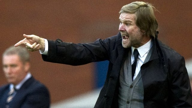 Falkirk manager Steven Pressley