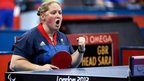 Great Britain table tennis player Sara Head