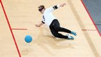 Finland goalball player Petri Posio