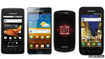 Samsung&#039;s Prevail, Galaxy S2, Droid Charge and Galaxy S