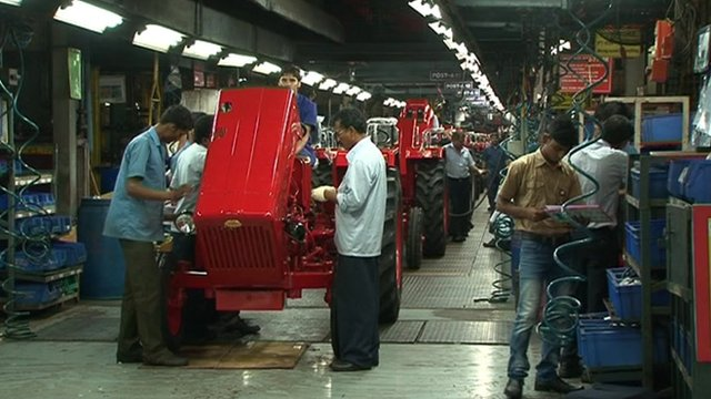 Tractor making in India