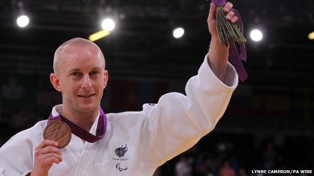 Ben Quilter, bronze medallist -60kg Judo