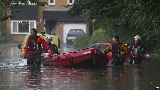 Britain has had its wettest summer for 100 years.
