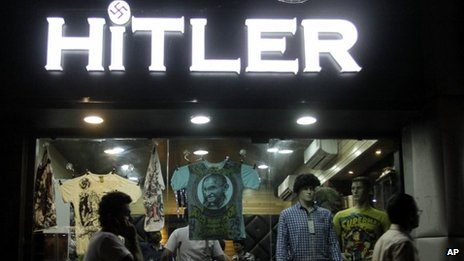 "The ""Hitler"" store in Ahmedabad, Gujarat"