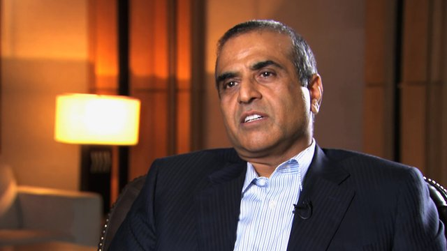 Sunil Mittal, Bharti founder and chief executive