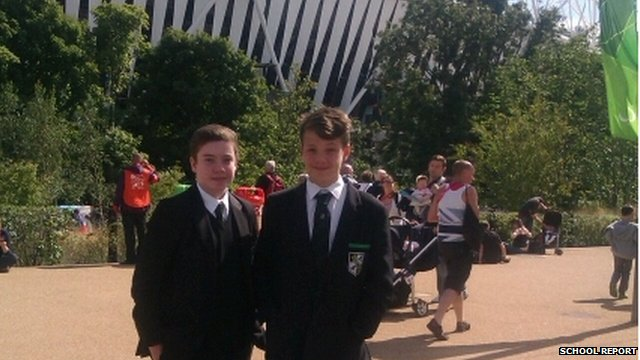 Will and Tom from Ravens Wood School